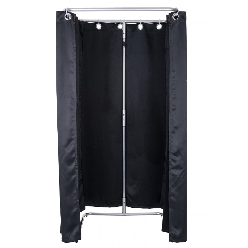 Mobile dressingroom black mobielepashokjes - Black and white dressing room ...